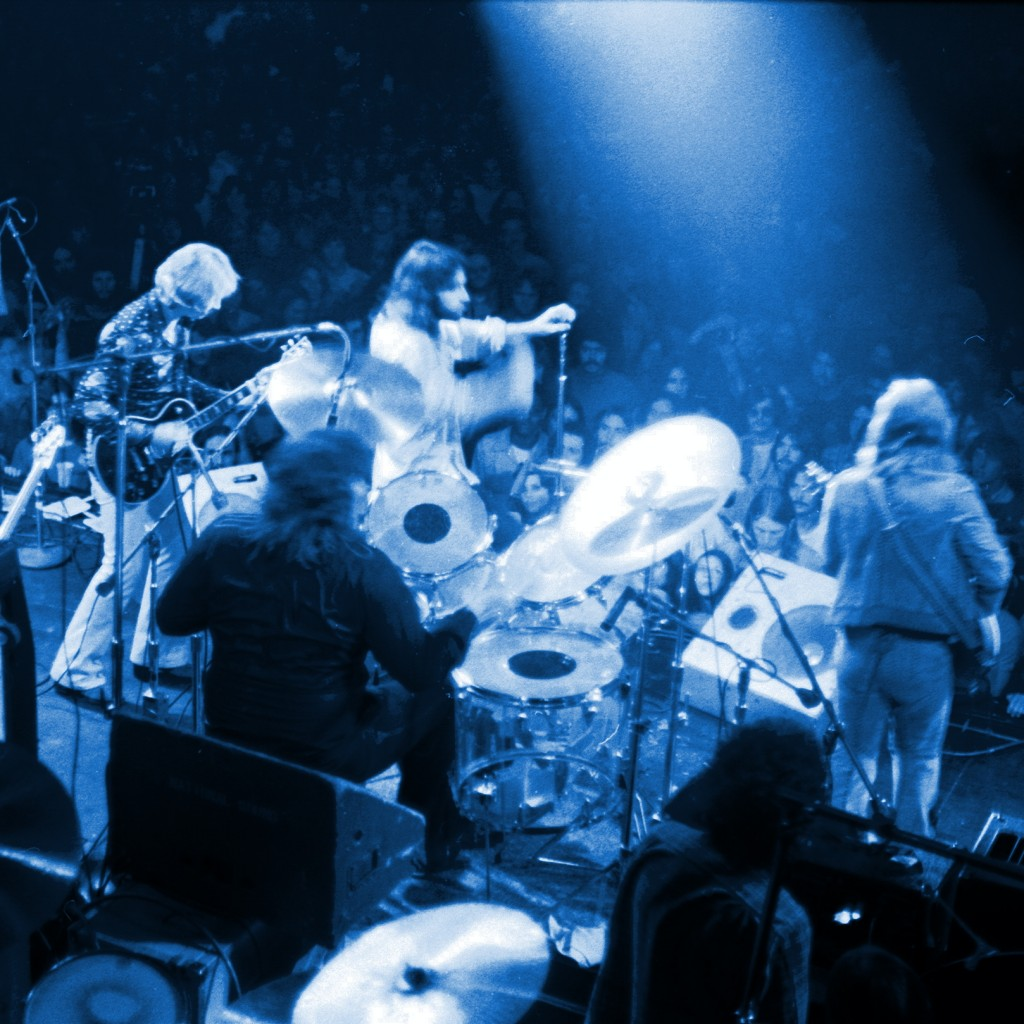Atlanta Rhythm Section jamming at Winterland in San Francisco on November 16, 1975.