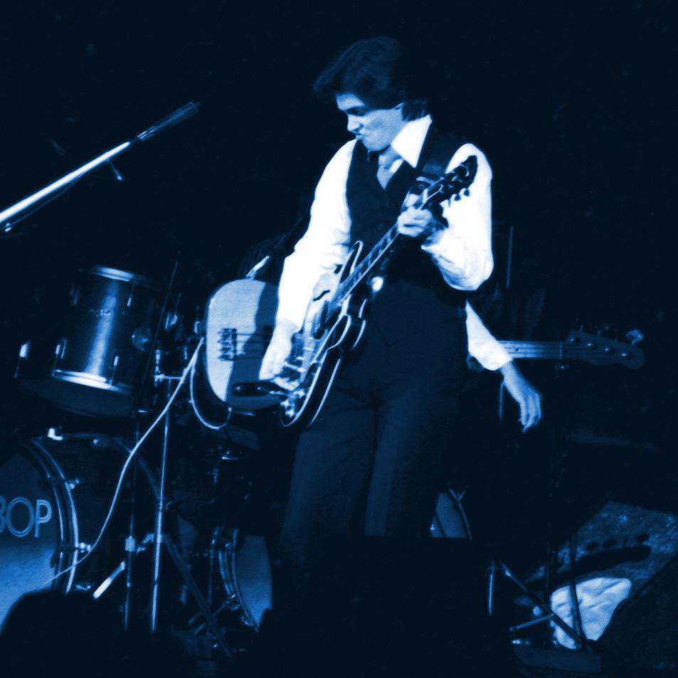 Be Bop Deluxe performing in Spokane, Wa. on 11-19-76.