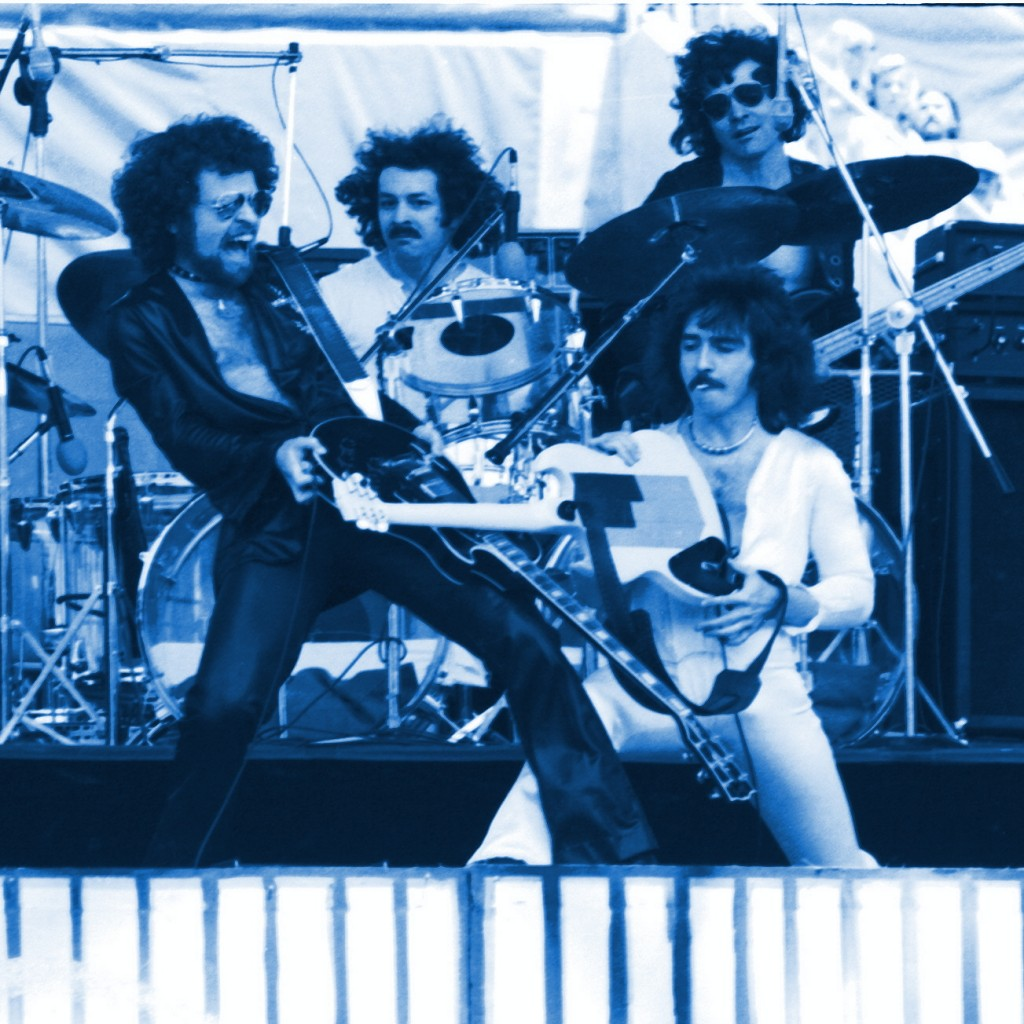 Blue Oyster Cult performing live in Oakland, Ca. on June 6, 1976.
