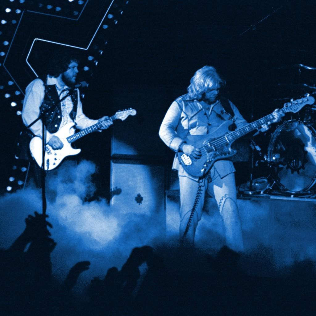 Bachman-Turner Overdrive performing in Spokane, Wa. in September  1976.