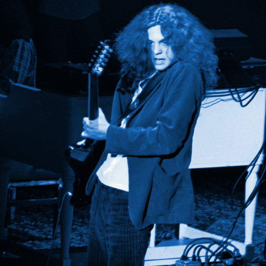 Allen Collins of Lynyrd Skynyrd performing at Winterland on 3-6-76. Photo by Ben Upham, who has taken many fantastic Lynyrd Skynyrd photos.