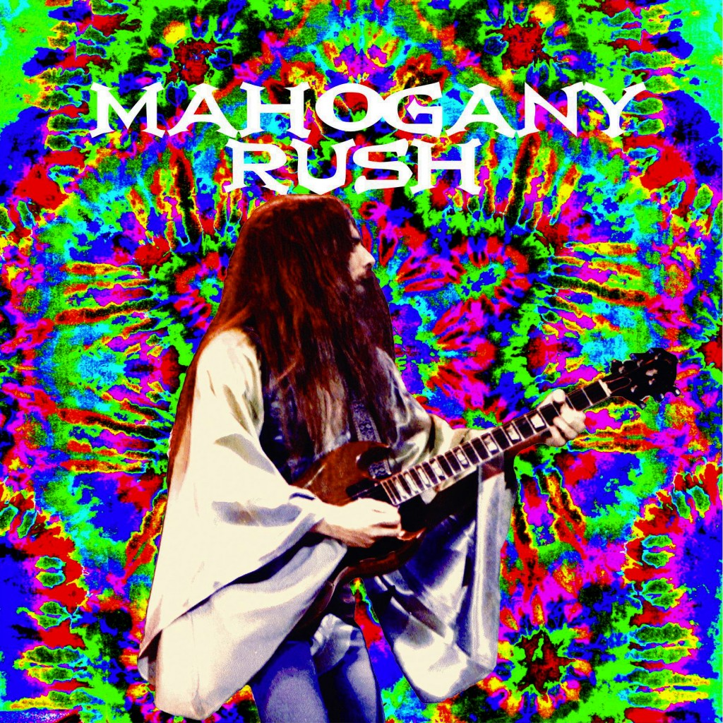 FRANK MARINO OF MAHOGANY RUSH PERFORMING LIVE IN SEATTLE, WA. ON 4-14-78. PHOTO ART BY BEN UPHAM. MAGICAL MOMENT PHOTOS.