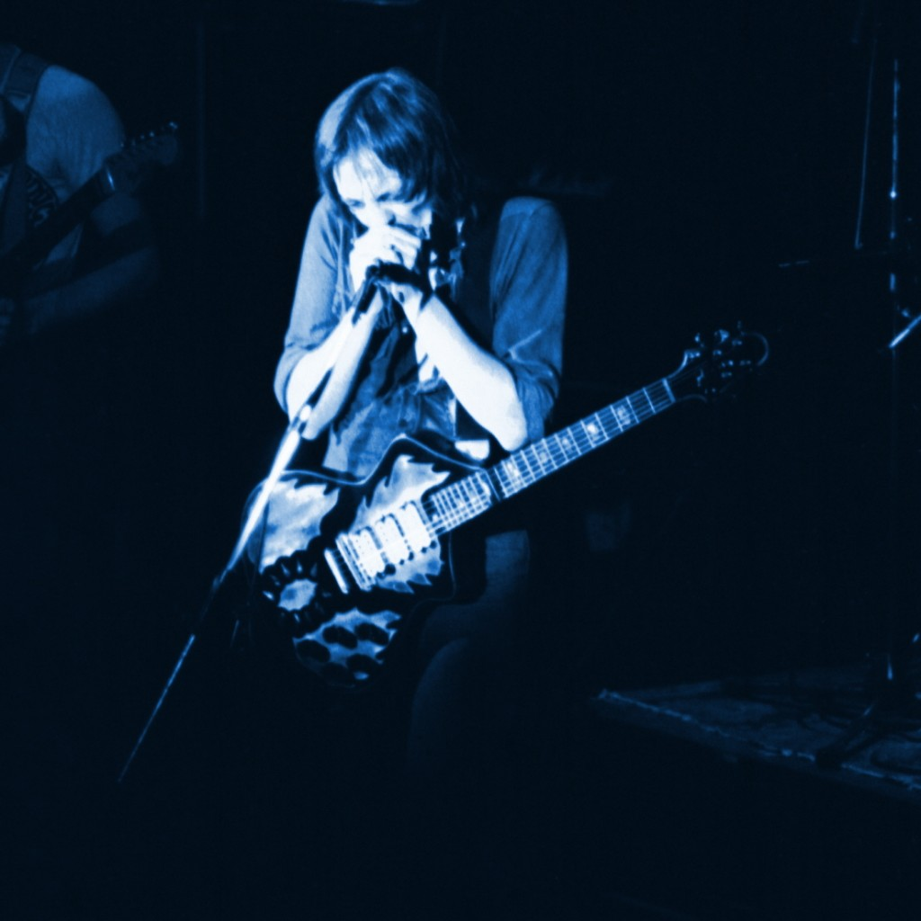 STEVE MARRIOTT AT WINTERLAND IN SAN FRANCISCO, CA. ON 5-7-76. PHOTO BY BEN UPHAM. MAGICAL MOMENT PHOTOS.
