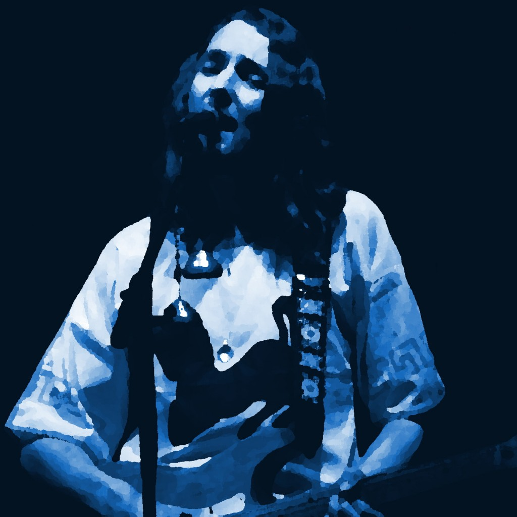 ROGER HODGSON OF SUPERTRAMP PERFORMING LIVE IN CONCERT IN SPOKANE, WA. ON APRIL 15, 1977. PHOTO BY BEN UPHAM. MAGICAL MOMENT PHOTOS.