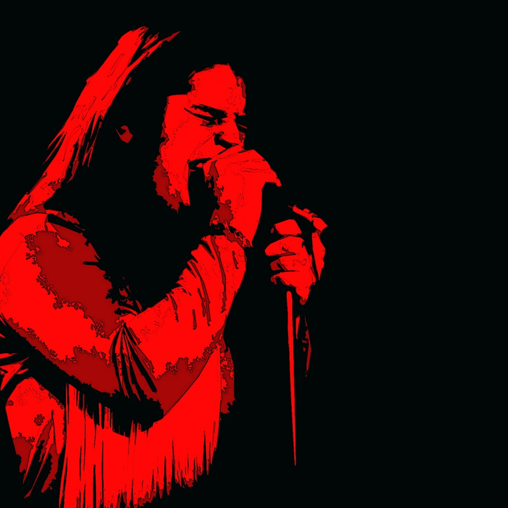 OZZY OSBOURNE PERFORMING LIVE IN SPOKANE, WA. ON 9-28-78. PHOTO BY BEN UPHAM. MAGICAL MOMENT PHOTOS.