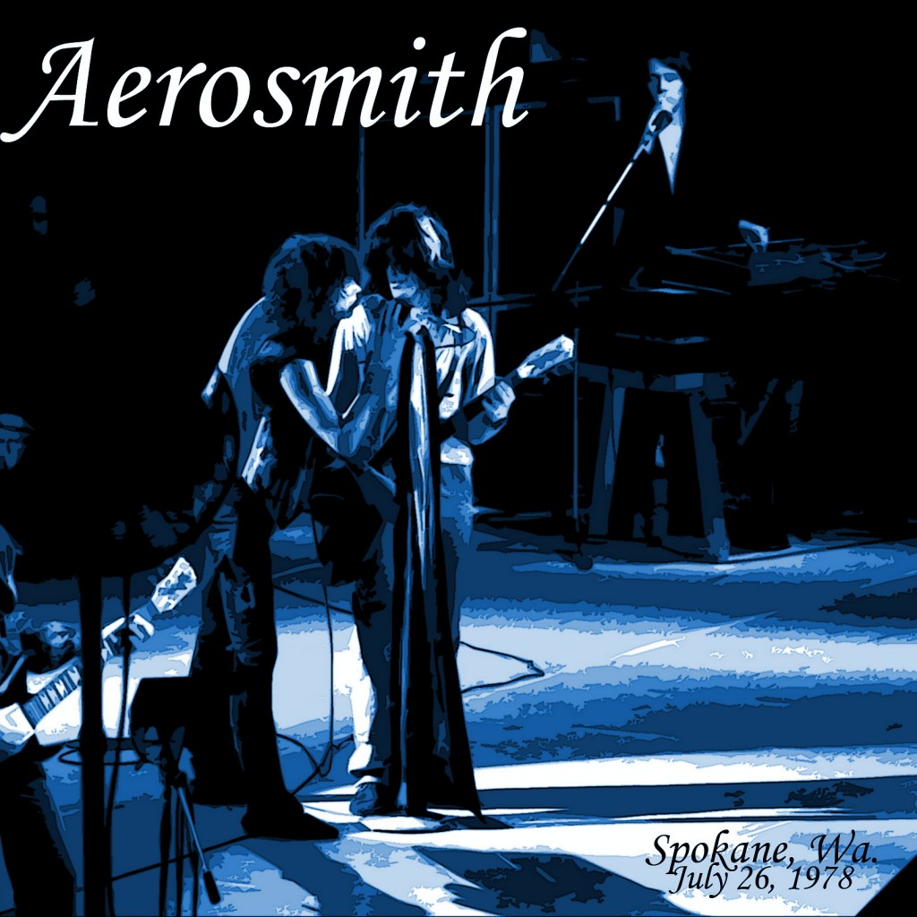 Aerosmith performing Live at the Coliseum in Spokane, Wa. on 7-26-78. Photo by Ben Upham. Magical Moment Photos.