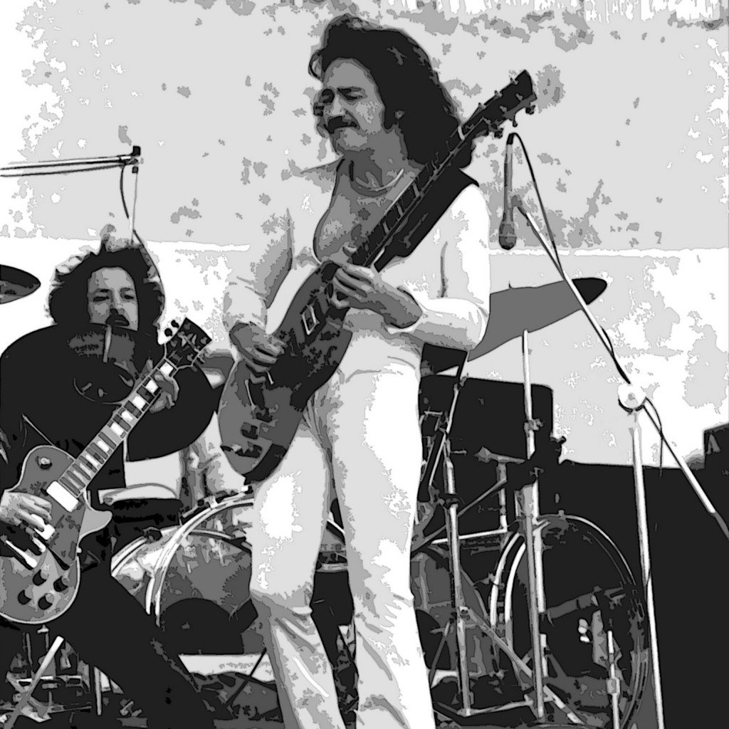 Blue Oyster Cult Live in Oakland, Ca. on 6-6-76. Photo by Ben Upham. Magical Moment Photos.
