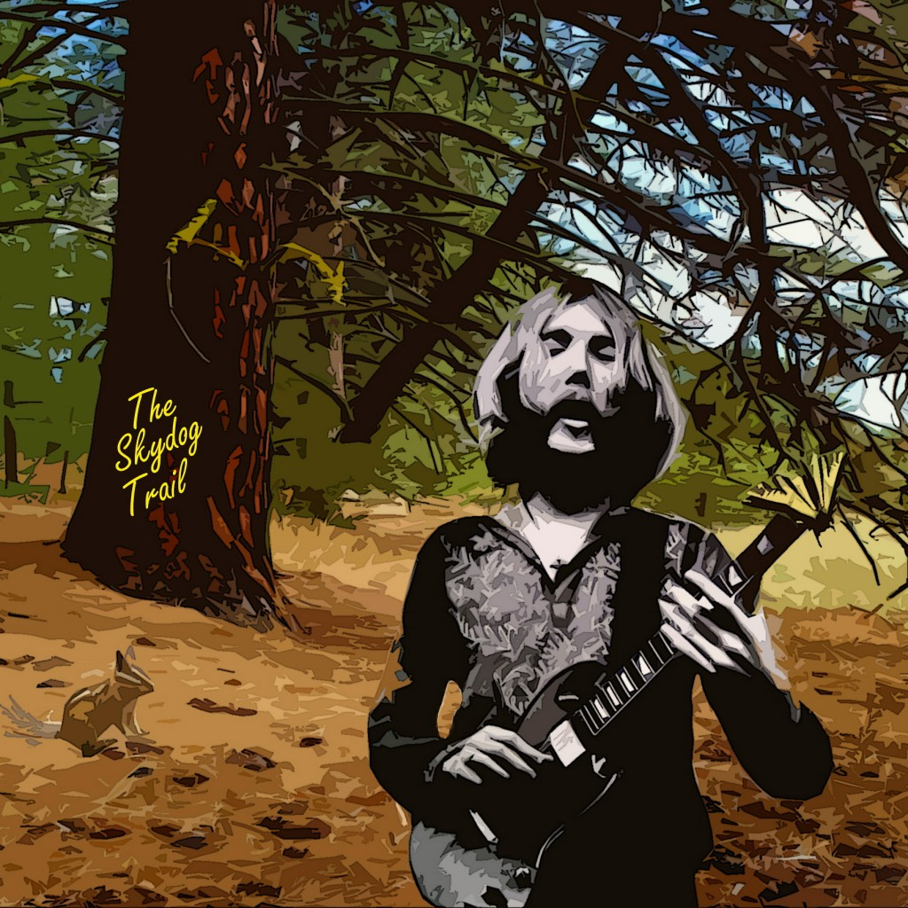 DUANE ALLMAN ON THE SKYDOG TRAIL NEAR SPOKANE, WA. DURING A DREAM.