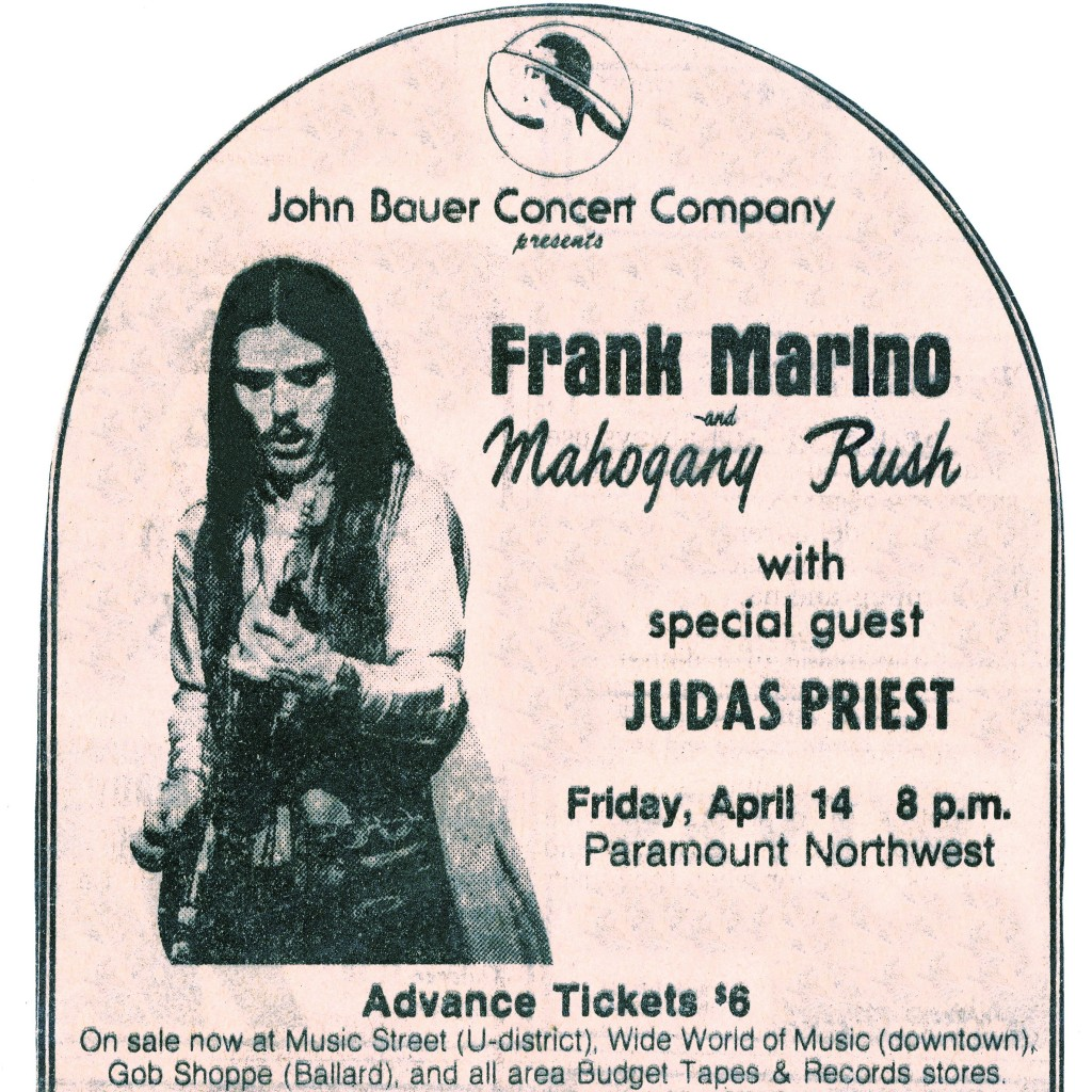 A CONCERT REVIEW OF MAHOGANY RUSH IN WINNIPEG FROM THE 1976 TOUR.