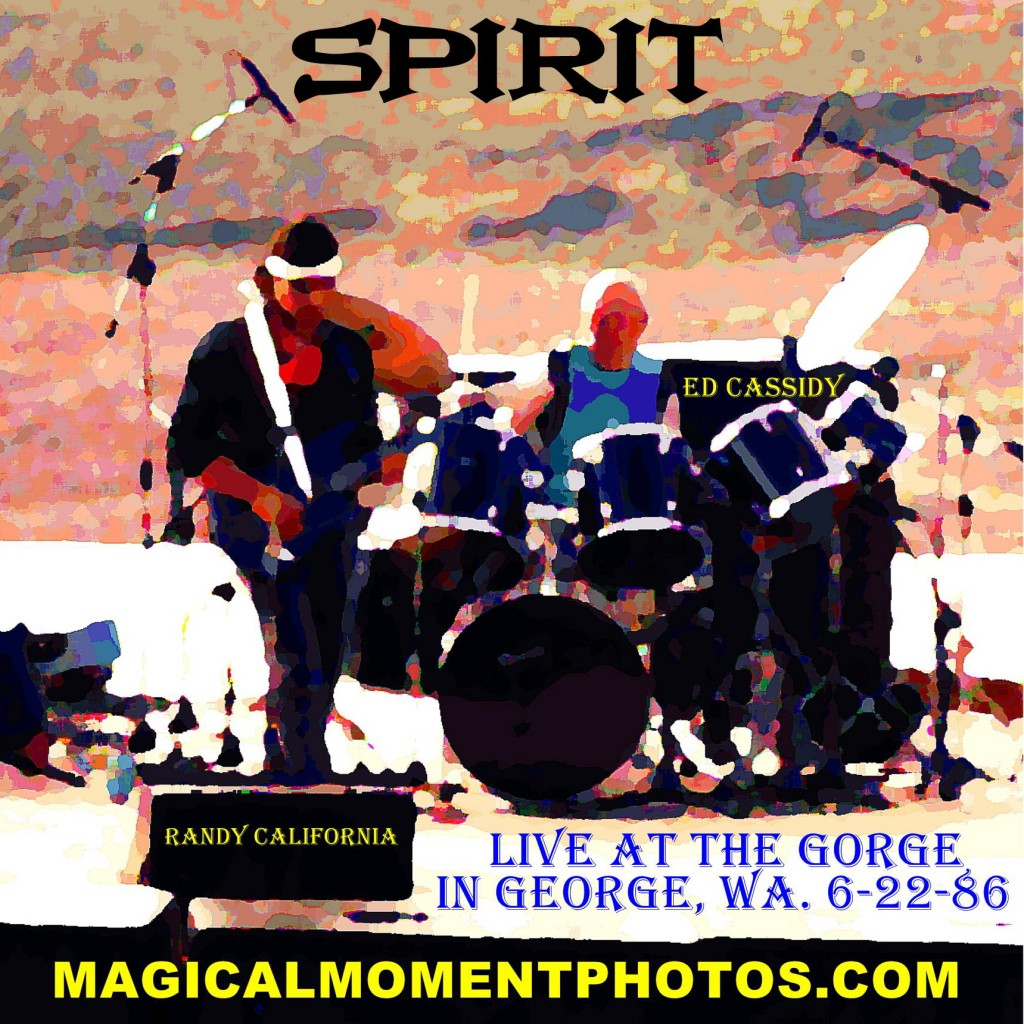 Spirit at the Gorge in 1986.