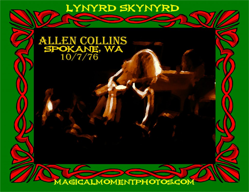 ALLEN COLLINS IS A FREE BIRD