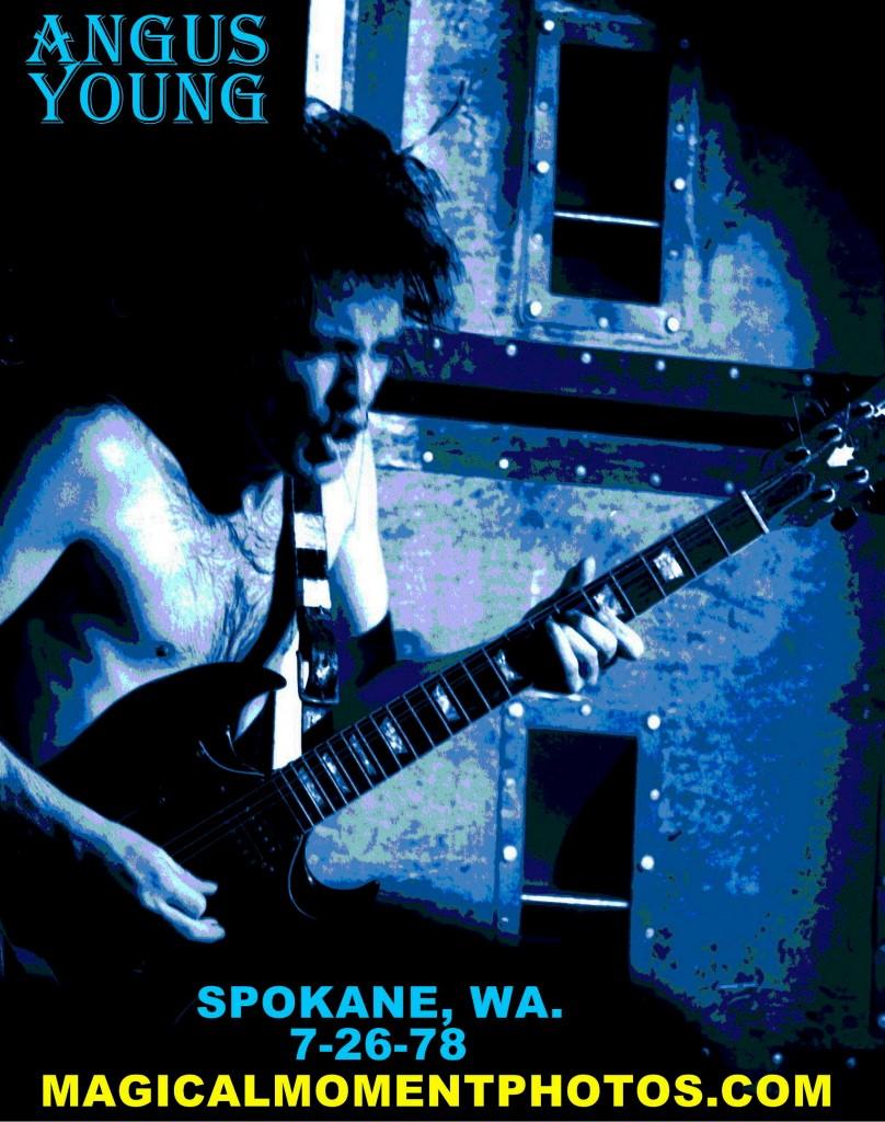 AC-DC LIVE IN SPOKANE, WA. 1978.