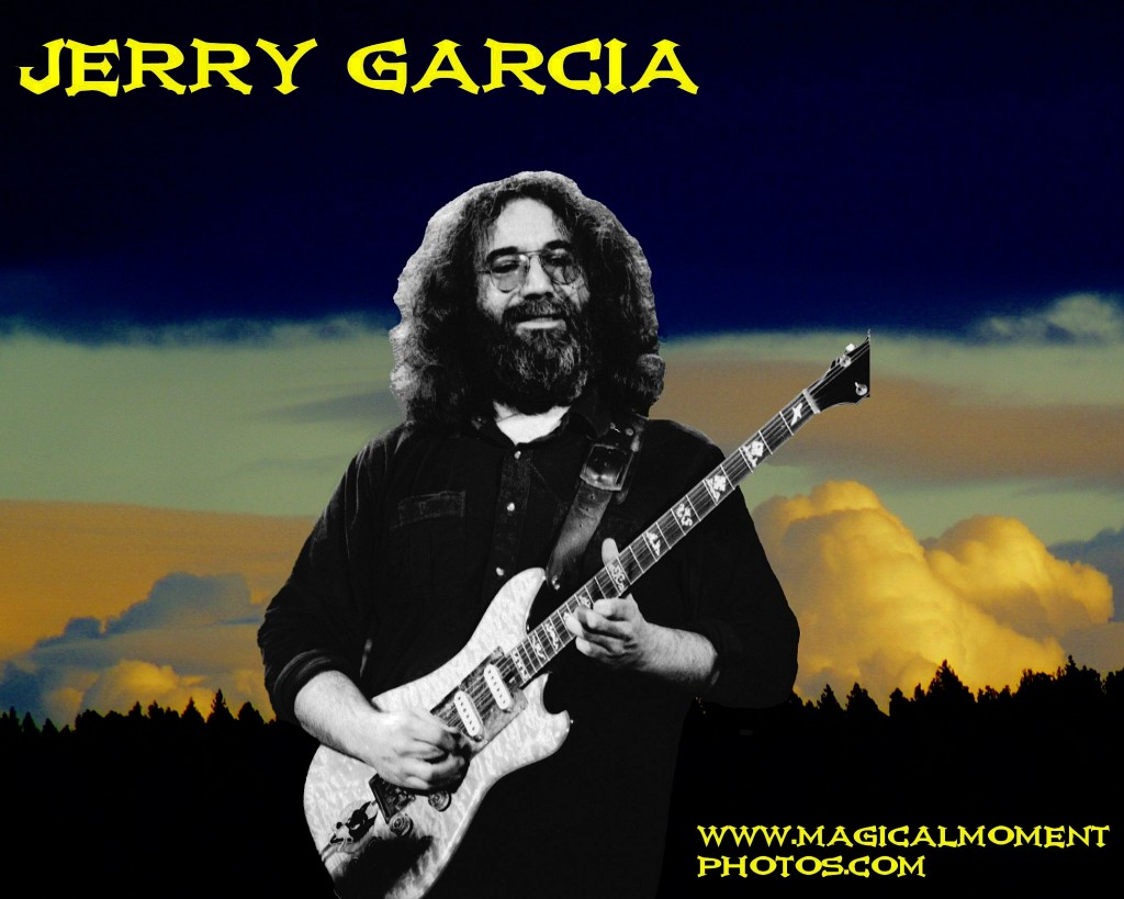 GRATEFUL DEAD GUITARIST JERRY GARCIA