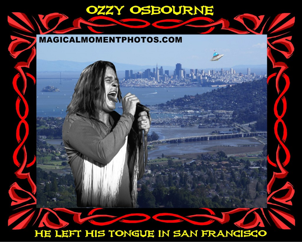 OZZY OSBOURNE IN SF