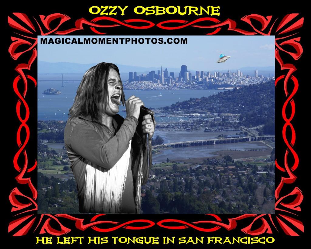OZZY OSBOURNE IN SF