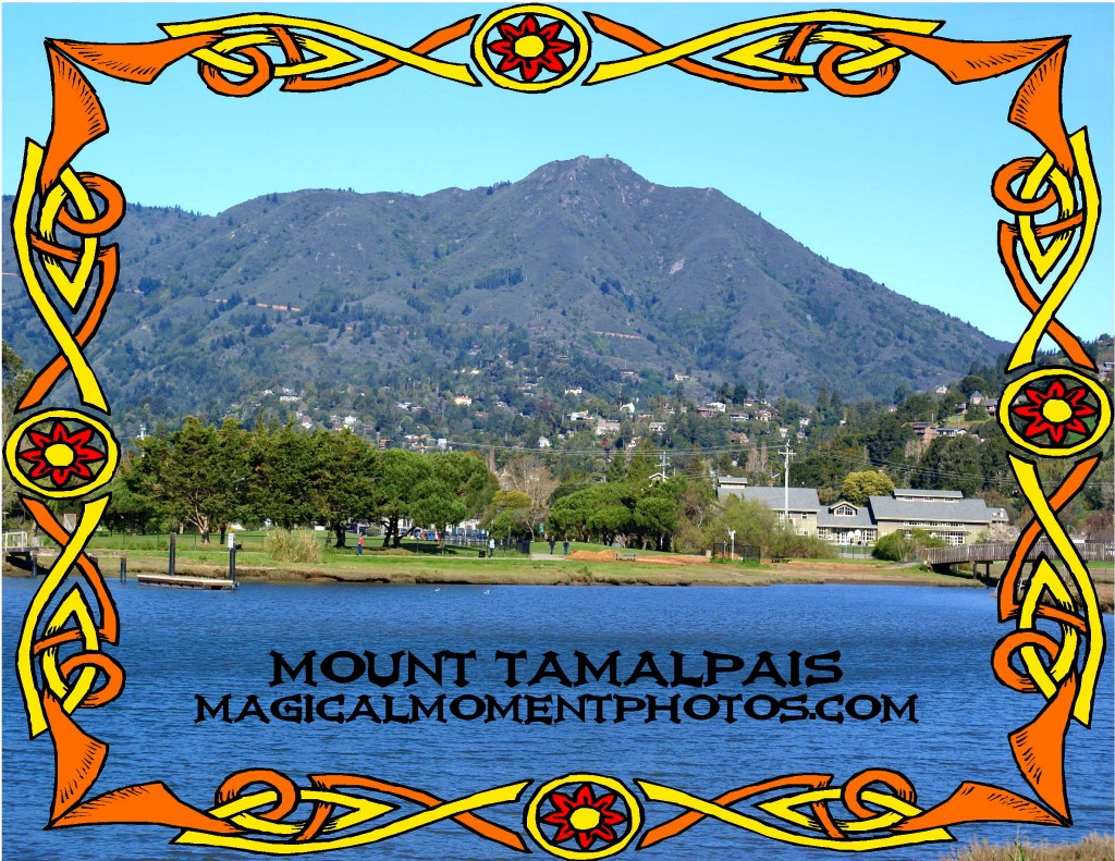 BEAUTIFUL MT. TAMALPAIS IN MARIN COUNTY, CALIFORNIA