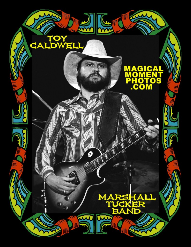 TOY CALDWELL ON GUITAR