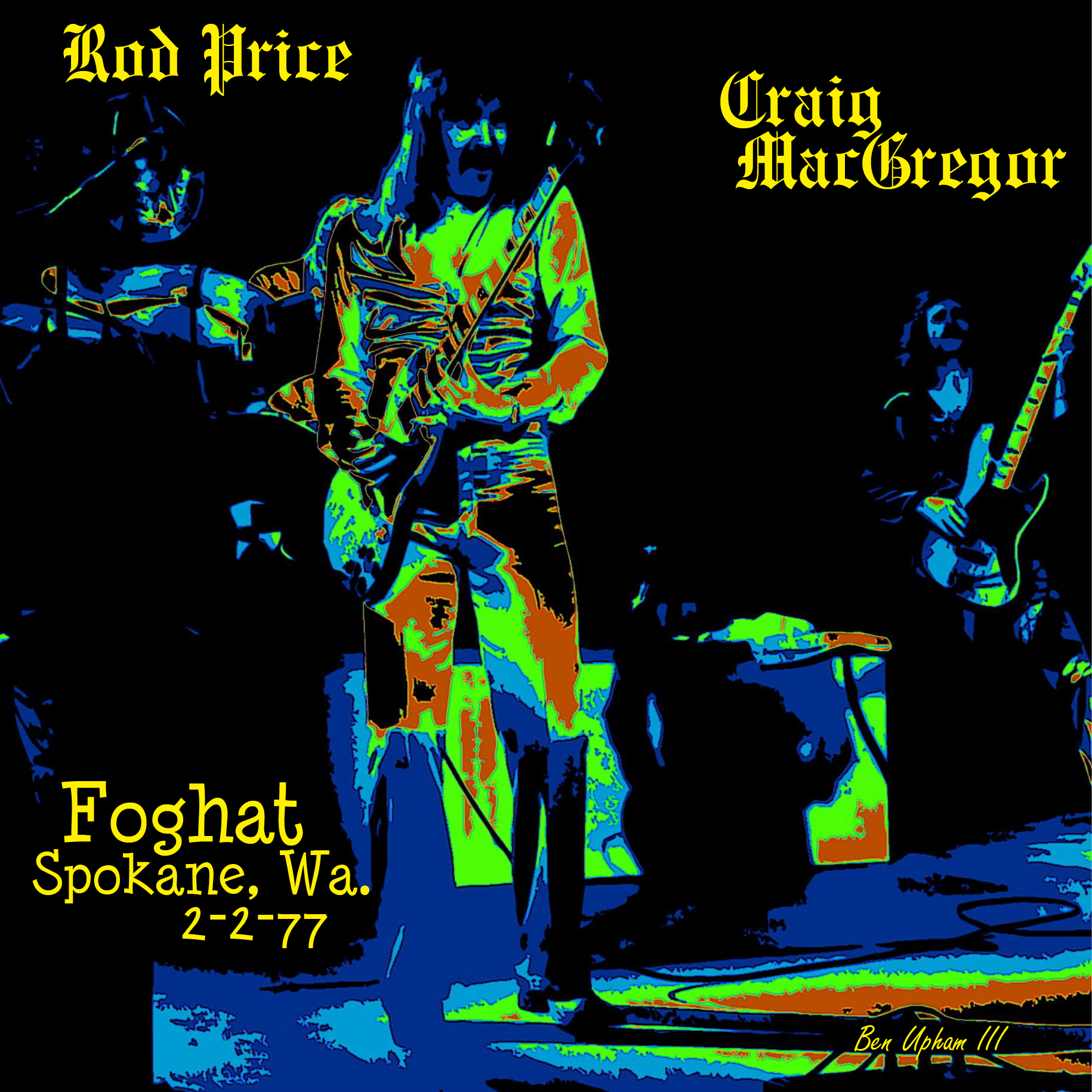 FOGHAT ROD PRICE ART 1SQT